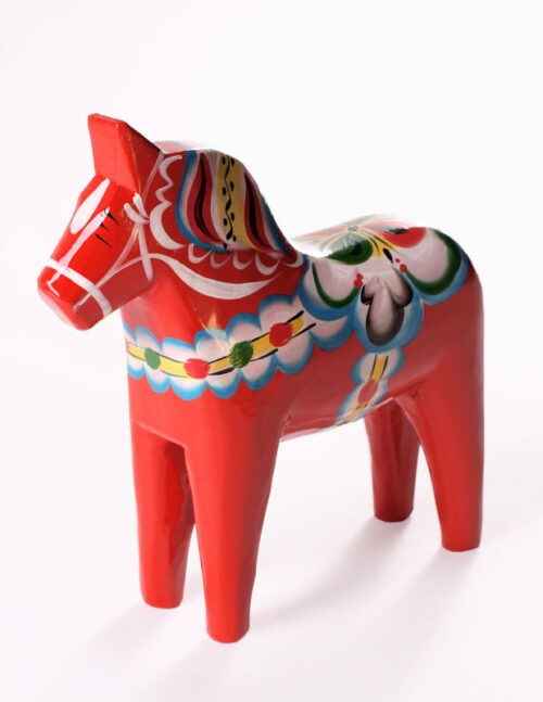 Red dala horse, nils olsson dala horse